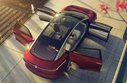 提前领略未来汽车 大众I.D. Vizzion最早2020年量产