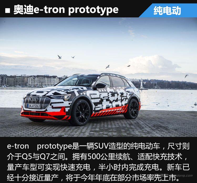奥迪etron SUV