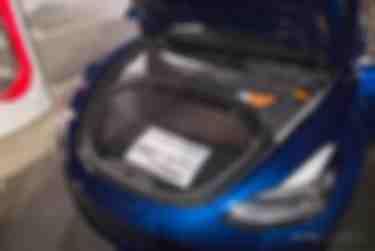 Model 3前备箱