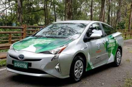 兼顾乙醇汽油 丰田展示普锐斯FFV概念车