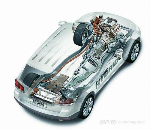 ②并联式混合动力汽车(phev)的发动机和发电机都是动力总成,两大动力