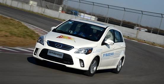性价比高的新能源汽车推荐:北汽EV200