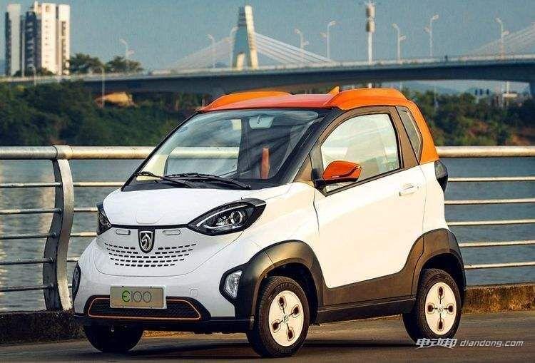 宝骏e100新能源汽车怎么样?车型介绍