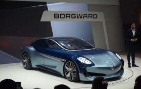 宝沃Isabella新能源汽车,概念车型