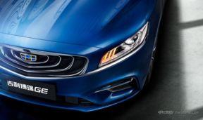 吉利全新混动车型定名博瑞 GE 外观造型运动