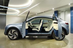 第一次亮相就惊艳全场 SF Motors两款SUV实拍