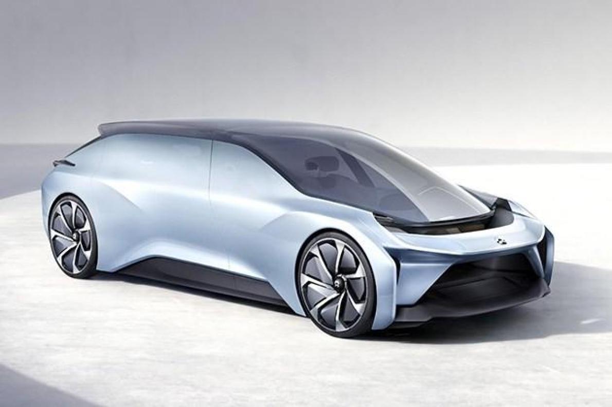 依靠未来交通理念打造 蔚来eve概念车将亮相北京车展