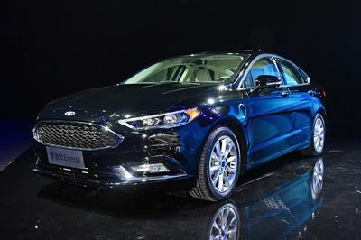 新能源汽车福特续航能跑多远:外观