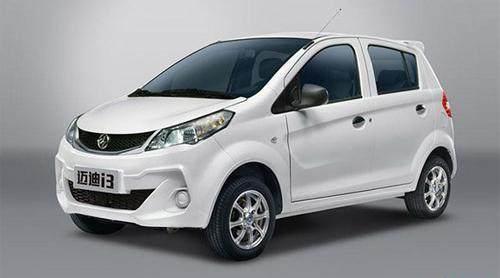 純電動汽車邁迪i3怎么樣:外觀