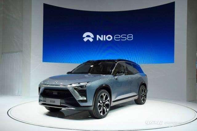 非常合适家用的蔚来新能源汽车:外观