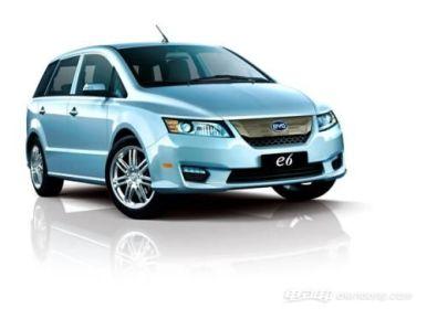 比亚迪e6电动汽车怎么样?比亚迪e6推荐