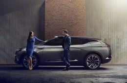 拜腾纯电动SUV车型BYTON Concept 限量1000台内部预售
