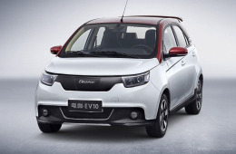 续航增至270公里 电咖北京车展推升级车型