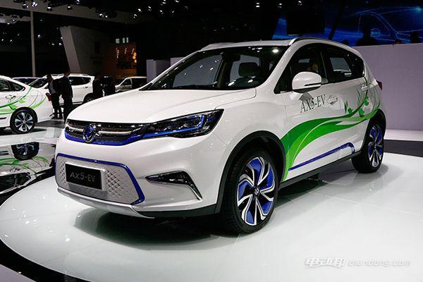 本田和东风风神新能源汽车介绍——东风风神AX5 EV