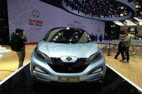 北汽新能源EX3概念车亮相北京车展