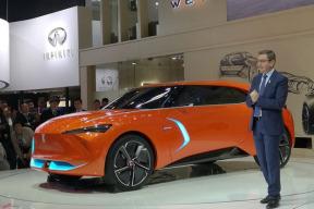WEY-X概念车正式亮相北京车展 搭载L5级自动驾驶