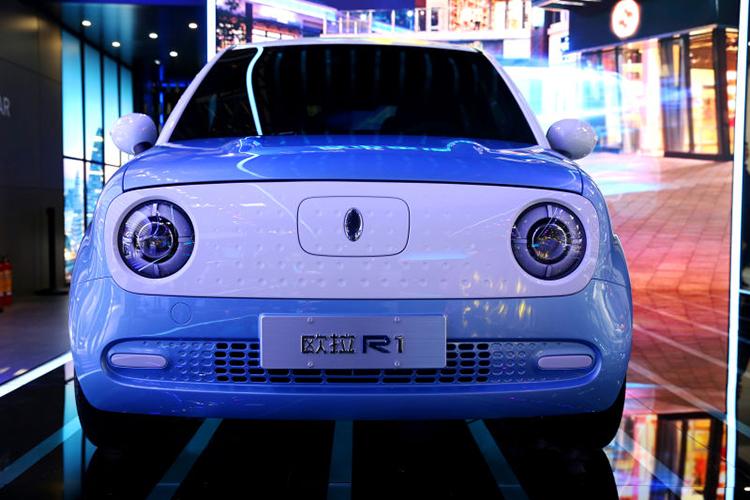 下半年量产 长城欧拉发布R1/R2概念车-汽车氪