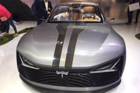 前途汽车Concept 1概念车亮相北京车展