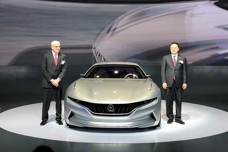 续航超过1000公里 正道GT概念车亮相-汽车氪