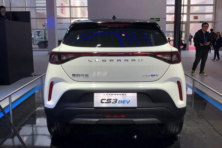 续航里程250公里 猎豹CS3 BEV北京车展正式发布-汽车氪