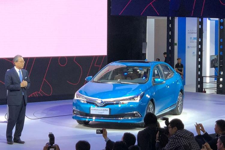 中国特供 卡罗拉/雷凌插电混动版北京车展亮相
