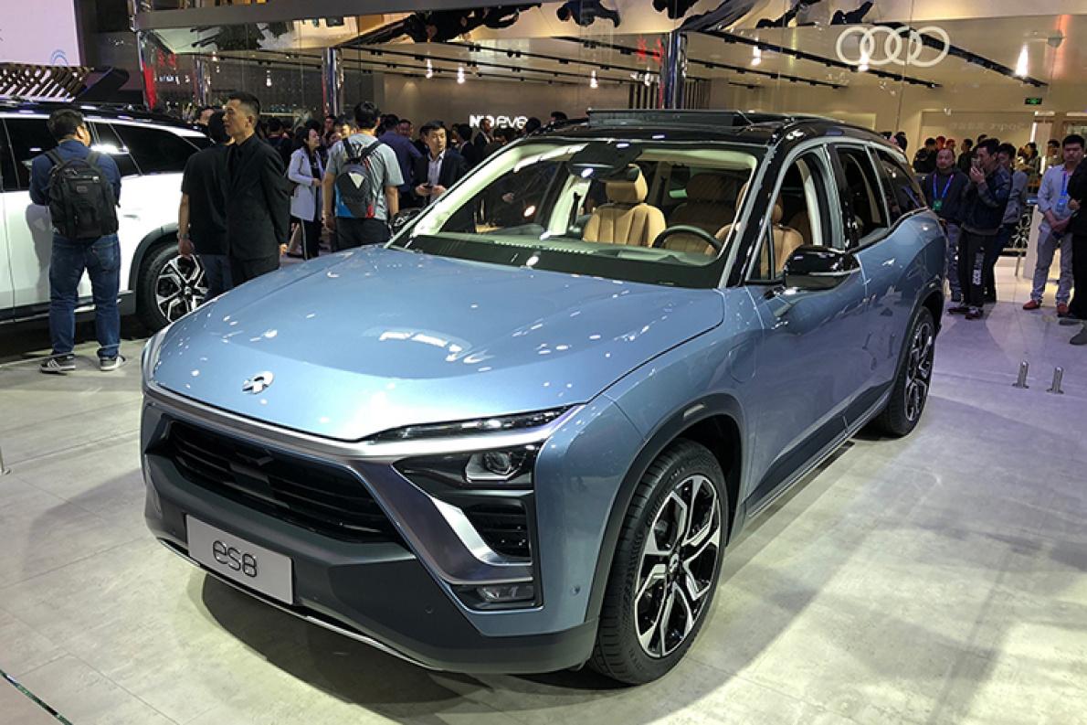 2019年上半年交付  蔚来ES8 6座版亮相北京车展
