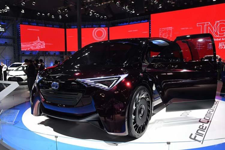 氢燃料MPV 丰田Fine-Comfort Ride概念车亮相北京车展
