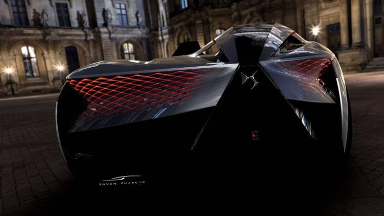 酷到没朋友 DS X E-Tense概念车发布