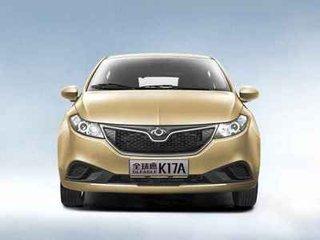 康迪和众泰新能源汽车哪个好:康迪全球鹰k17