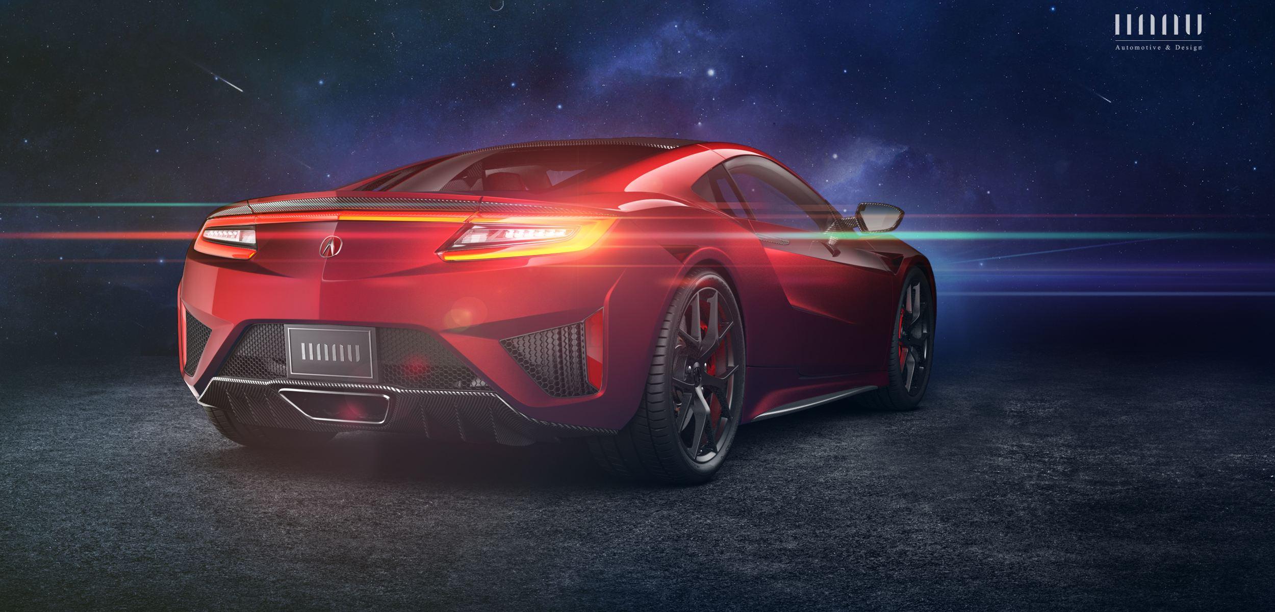 讴歌和日产楼兰电动汽车哪个好:讴歌NSX