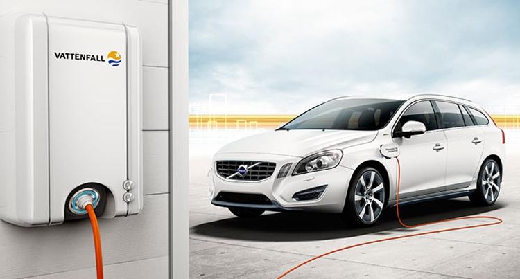 布局家庭充电 沃尔沃联手瑞典电力公司