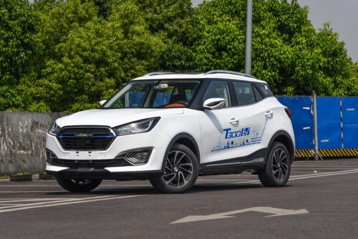 又一款小型纯电SUV来了,众泰T300 EV 将于5月18日上市
