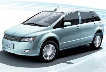 比亚迪e6新能源汽车怎么样,比亚迪e6新能源汽车车型介绍