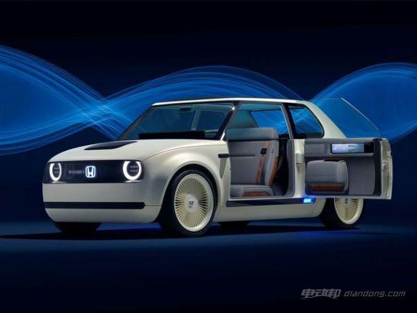 本田Urban EV电池:侧面