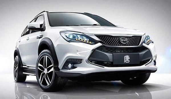 比亚迪新能源汽车车型推荐:比亚迪唐