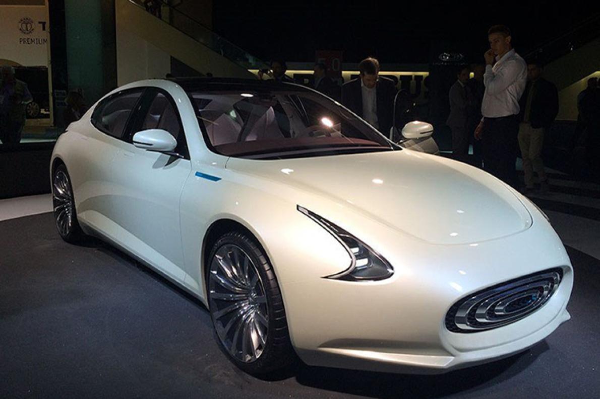 昶洧工厂动工 首款量产轿车或2019年底投产