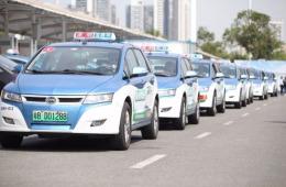深圳出租车将于今年底实现100%纯电动化