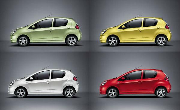 吉利熊猫电动汽车价格,熊猫电动汽车售价3.69万-4.99万元