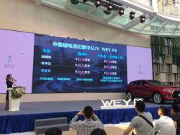 插电混动SUV WEY P8广东有道第一店正式上市