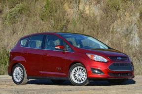 美国新能源电动汽车,福特C-MAX Energi售21.38万元