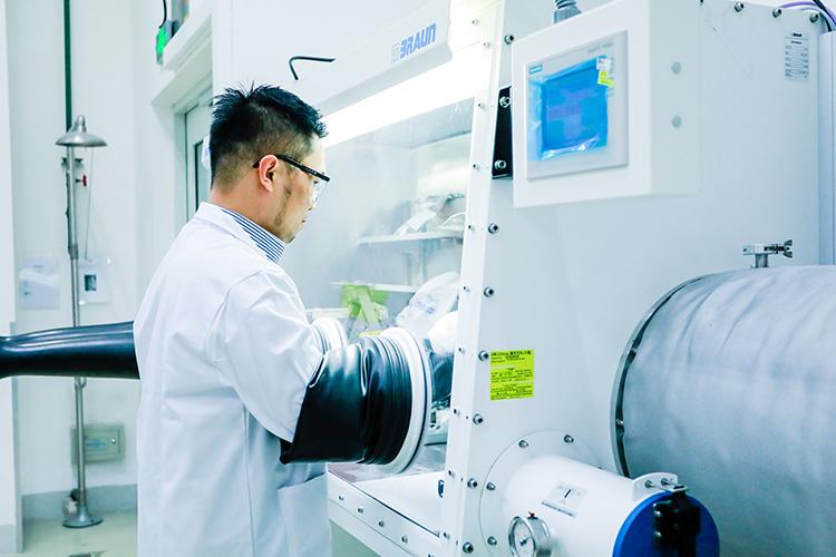 通用汽车中国前瞻技术中心电池材料实验室
