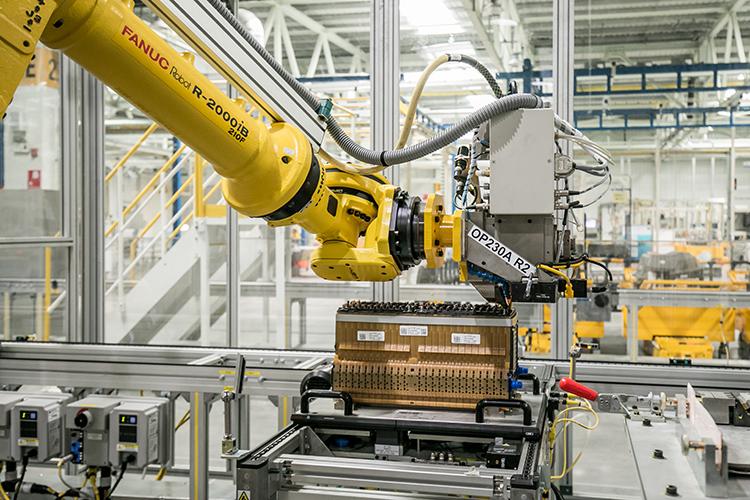 上汽通用汽车动力电池系统发展中心液冷线-超声波焊接
