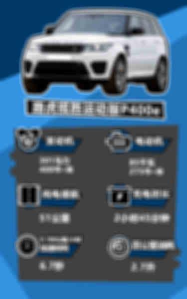 路虎揽胜运动P400e