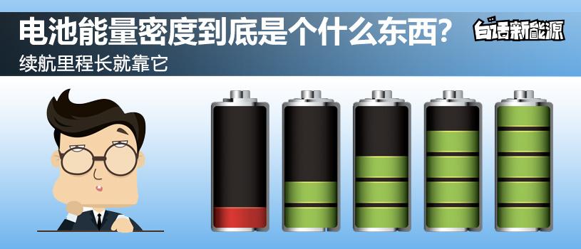白话电池能量密度
