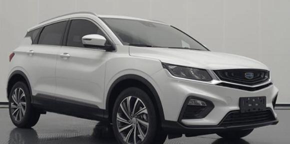 """吉利全新小型SUV或命名""""星越"""" 将推出插电混动版"""