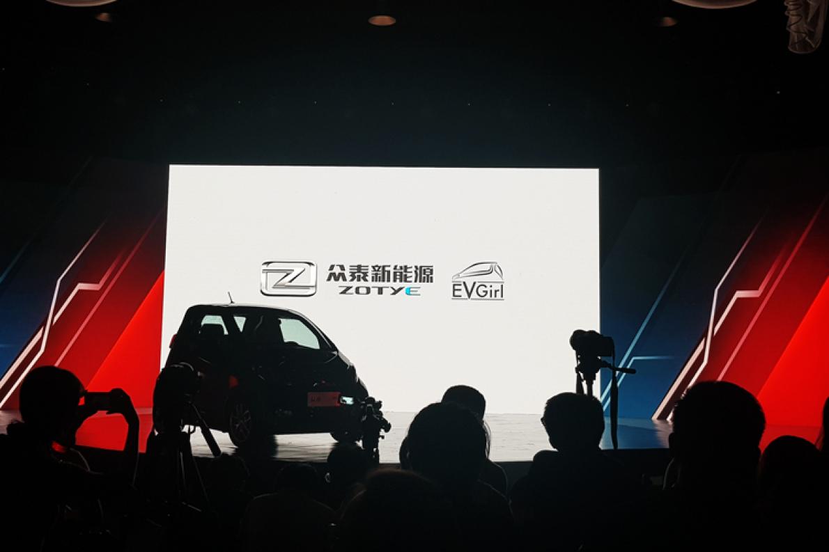 综合续航301公里,售价6.39万元,众泰E200 Pro上市