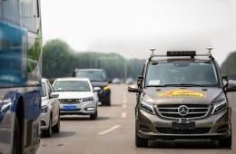 戴姆勒获得北京市自动驾驶车辆路测牌照
