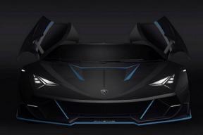 Alieno Arcanum发布5221马力的电动超级跑车