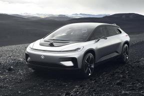 "FF 91首款白车身下线 贾跃亭的""造车梦""又近了一步"