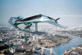 未来出行方式 阿斯顿马丁推首款概念飞行器